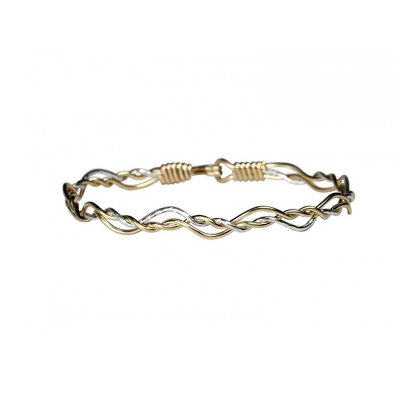 Ronaldo Dance with Me Gold and Silver Bracelet