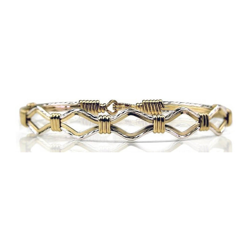 Ronaldo Devotion Gold and Silver Bracelet