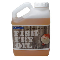 Riceland Rice Bran Fish Fry Oil - 1 Gallon