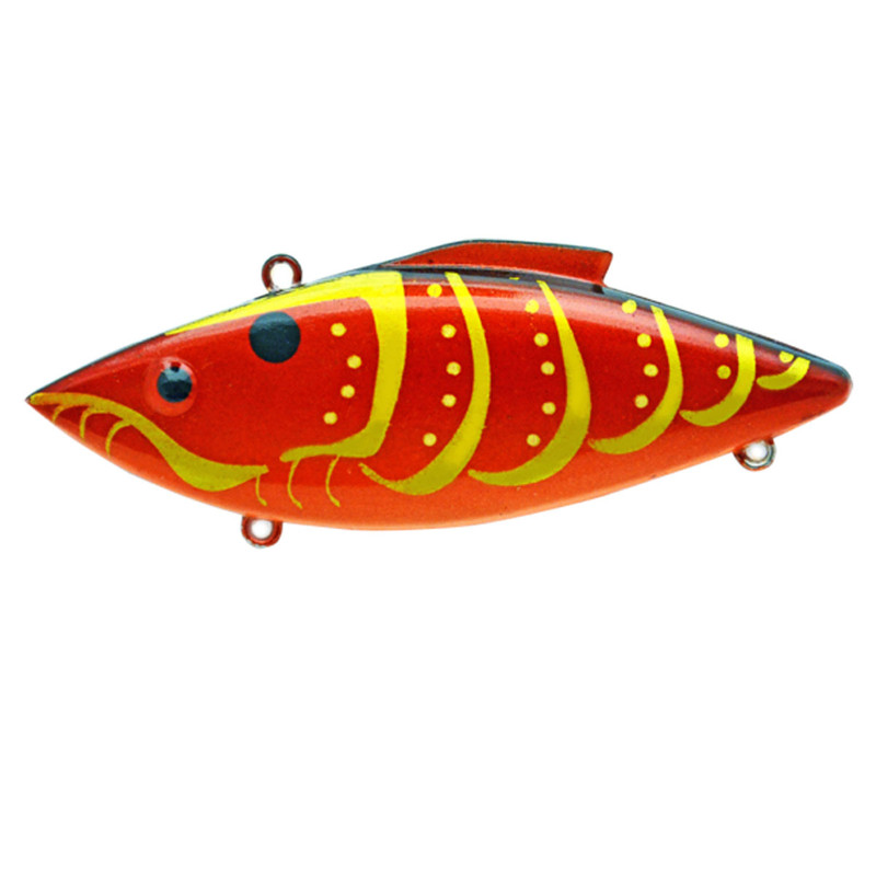 Rat-L-Trap Fishing Lure 1/2 Oz in Rayburn Red Craw