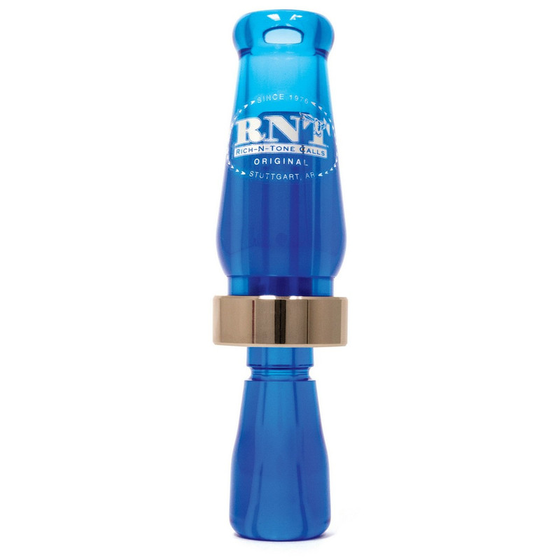 RNT Original Single Reed Duck Call in Blue Color