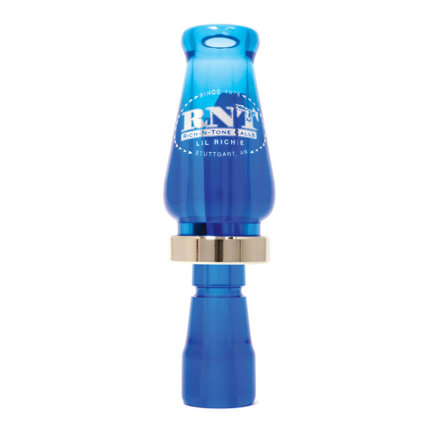 RNT Lil Richie Single Reed Duck Call in Blue Color