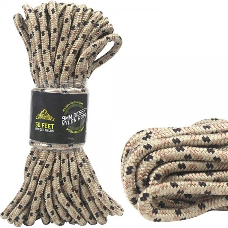 Red Rock 50 Foot Tan Paracord