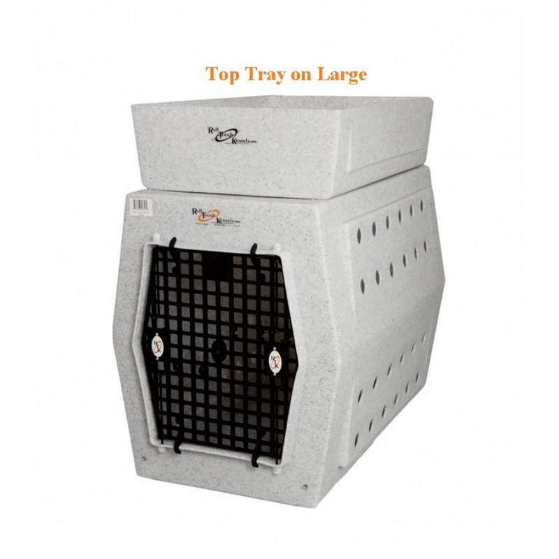 Ruff Land Dog Kennel Top Tray