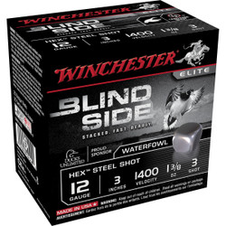 "Winchester SBS123 Blind Side 12 Ga 3"" 1-3/8 Oz - Case"