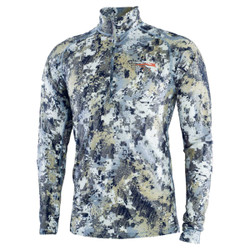 Sitka Merino Core Lightweight Half Zip Hunting Shirt - Elevated II