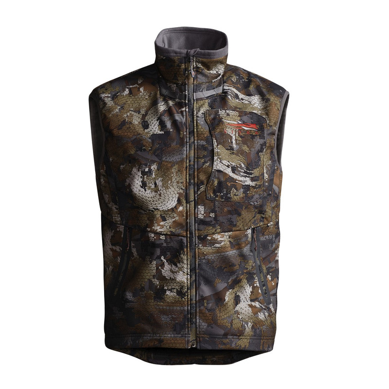 Sitka Dakota Vest in Waterfowl Timber Color