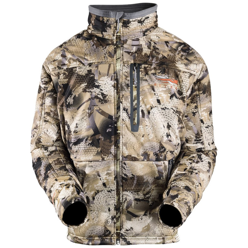 Sitka Duck Oven Jacket in Waterfowl Marsh Color