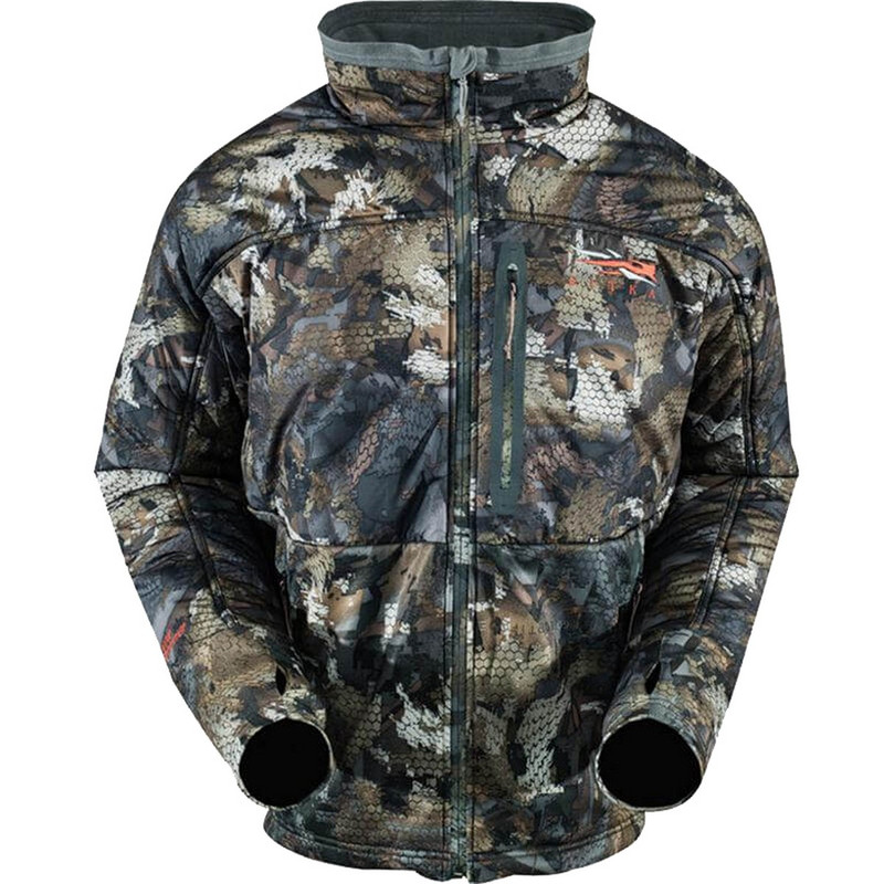 Sitka Duck Oven Jacket in Waterfowl Timber Color