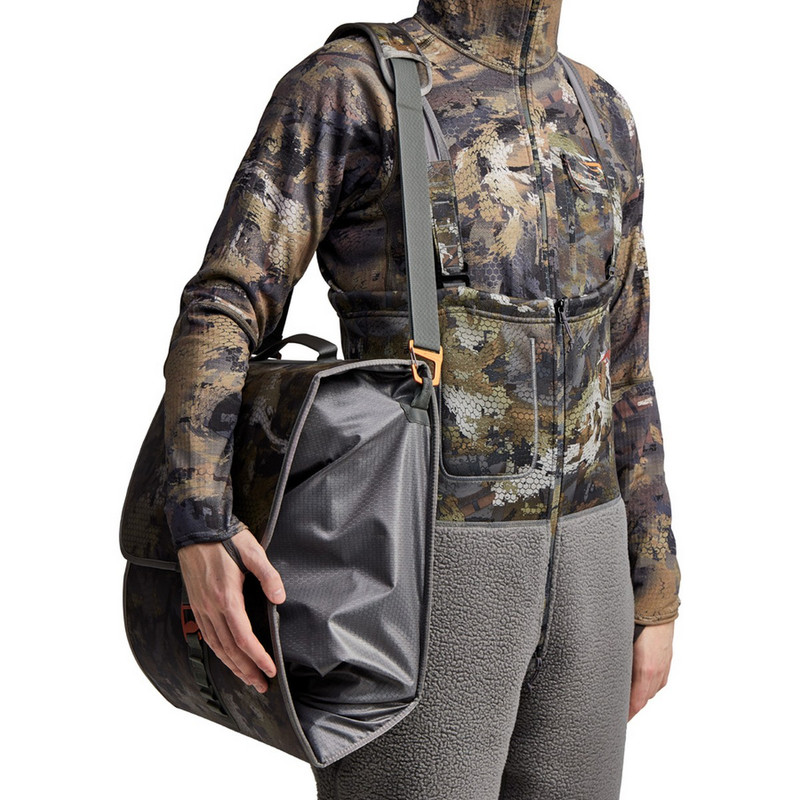 Sitka Wader Storage Bag in Waterfowl Timber Color