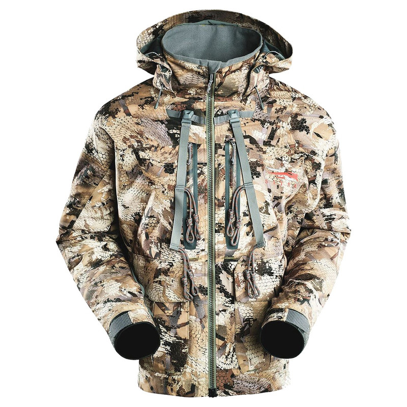 Sitka Delta Wading Jacket in Waterfowl Marsh Color