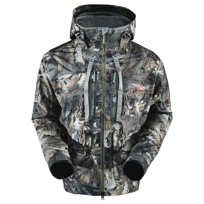 Sitka Delta Wading Jacket in Waterfowl Timber Color