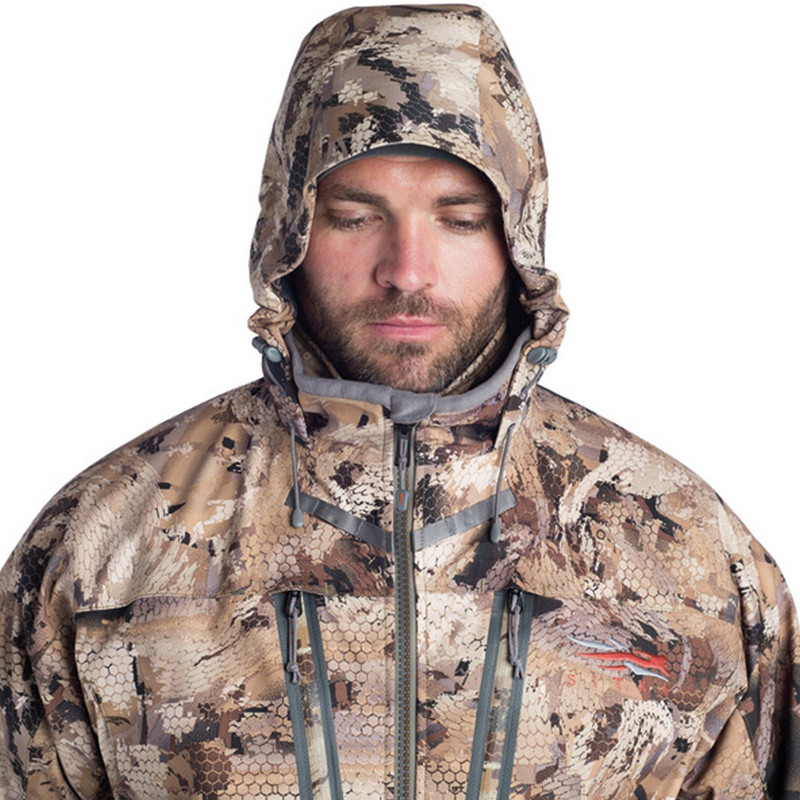 Sitka Hudson Jacket in Waterfowl Marsh Color