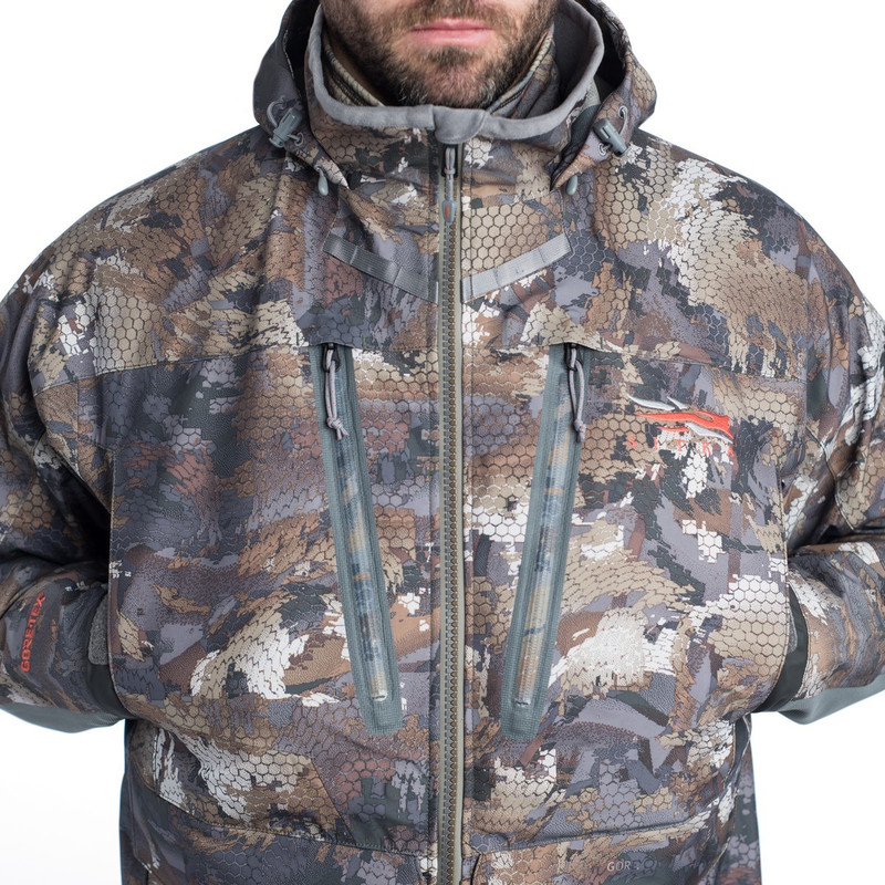 Sitka Hudson Jacket in Waterfowl Timber Color