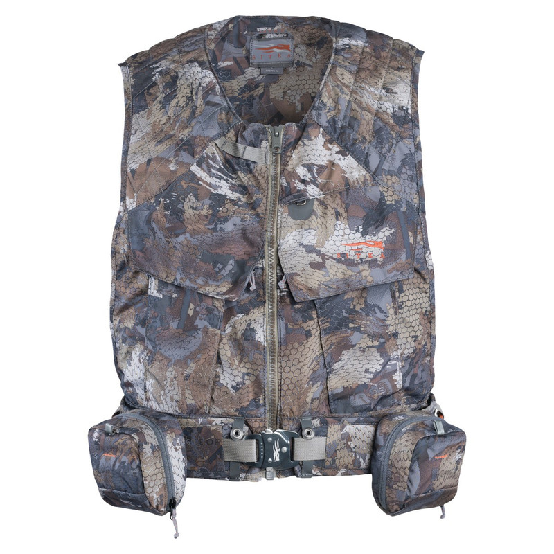 Sitka Delta Wading Vest in Waterfowl Timber Color