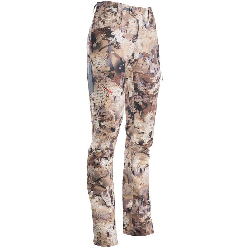 Sitka Women's Cadence Hunting Pants in Waterfowl Marsh Color