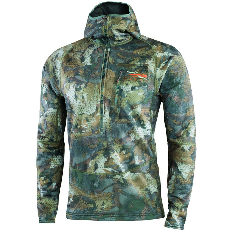 Sitka Grinder Hoody in Waterfowl Timber Color