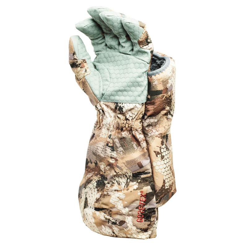 Sitka Callers Glove - Left Hand in Waterfowl Marsh Color