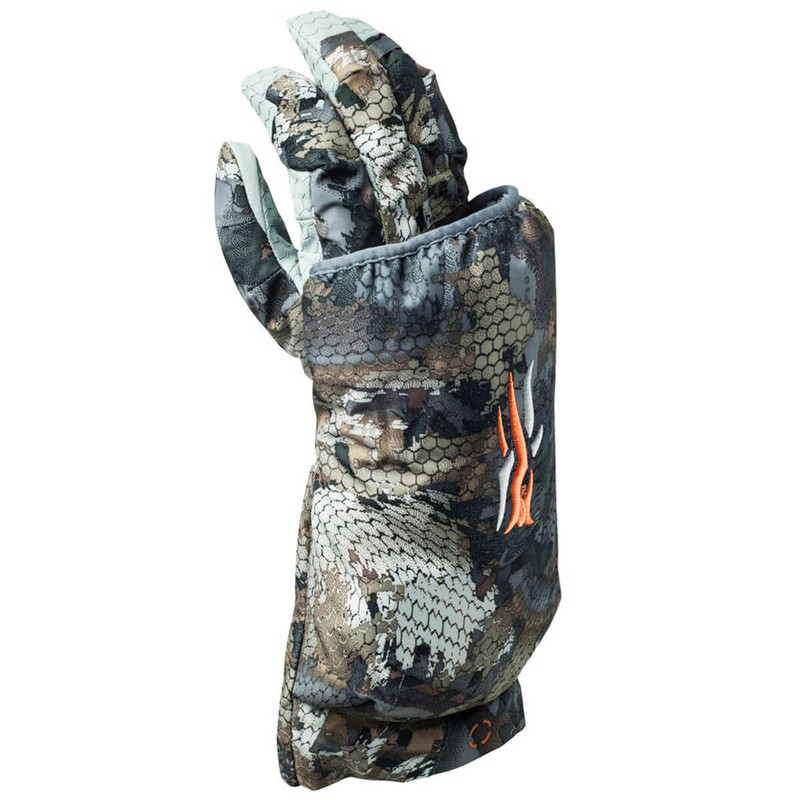 Sitka Callers Glove - Right Hand in Waterfowl Timber Color