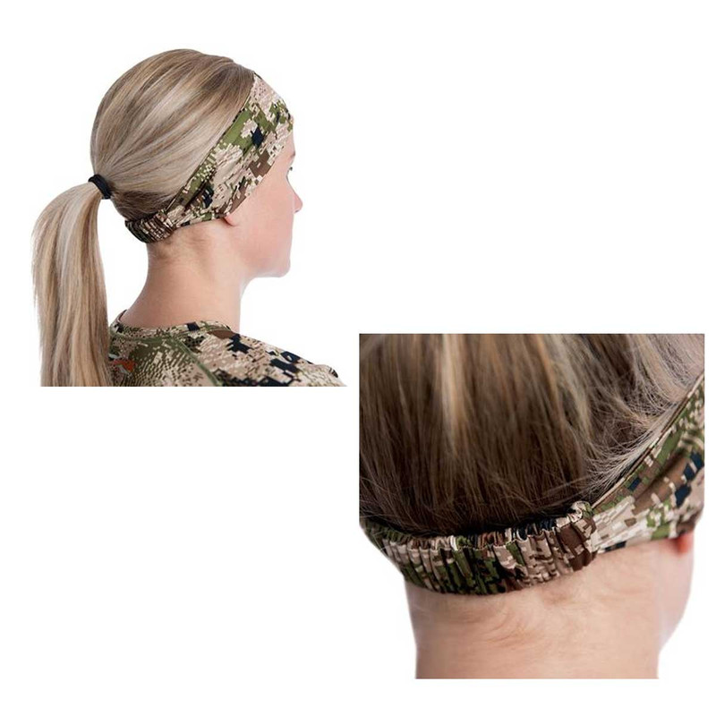 Sitka Womens Core Lightweight Headband in Elevated II Color