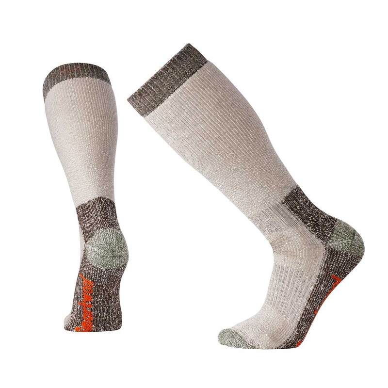 Smartwool Hunt Extra Heavy Over-the-Calf Socks - Taupe in Taupe Color