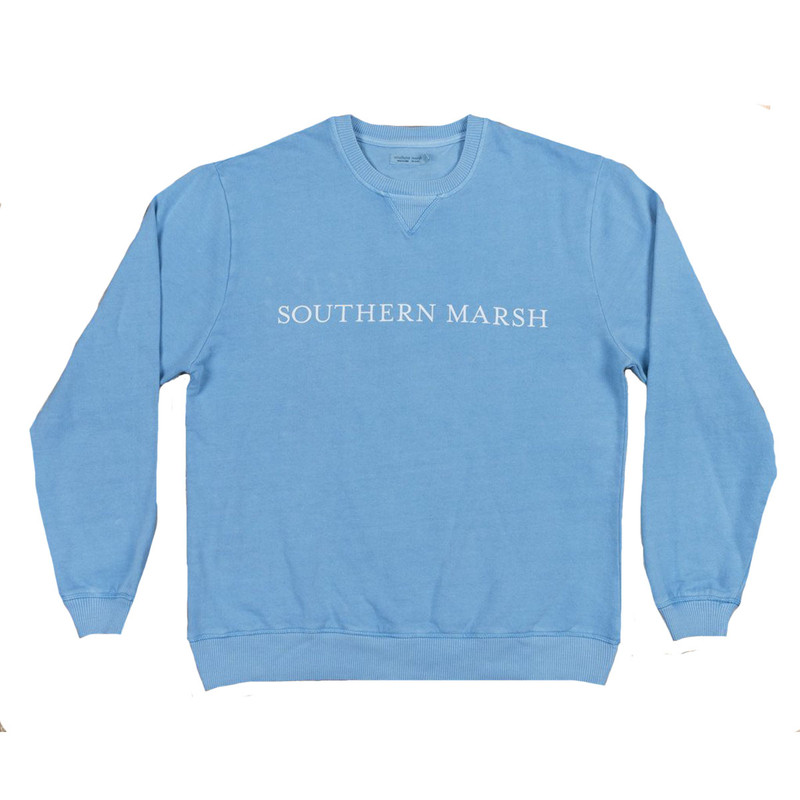Southern Marsh Seawash Rally Sweatshirt in Washed Blue Color