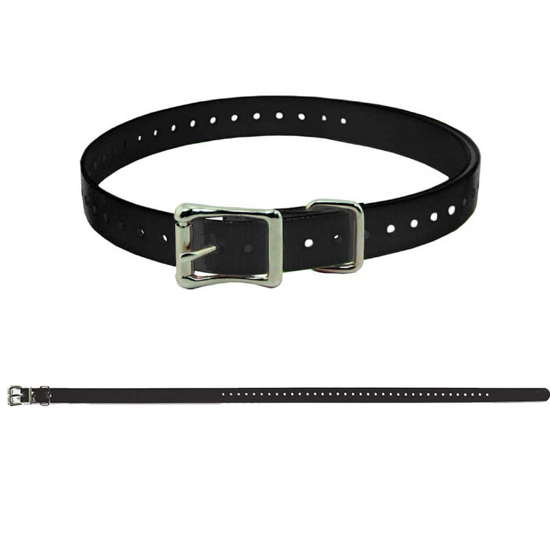 SportDOG Replacement 3/4 Inch Collar Strap in Black Color