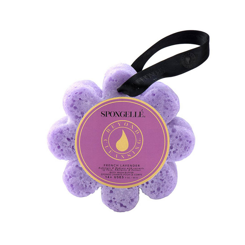 Spongelle Wildflower Body Wash Infused Buffer in French Lavender Flavor