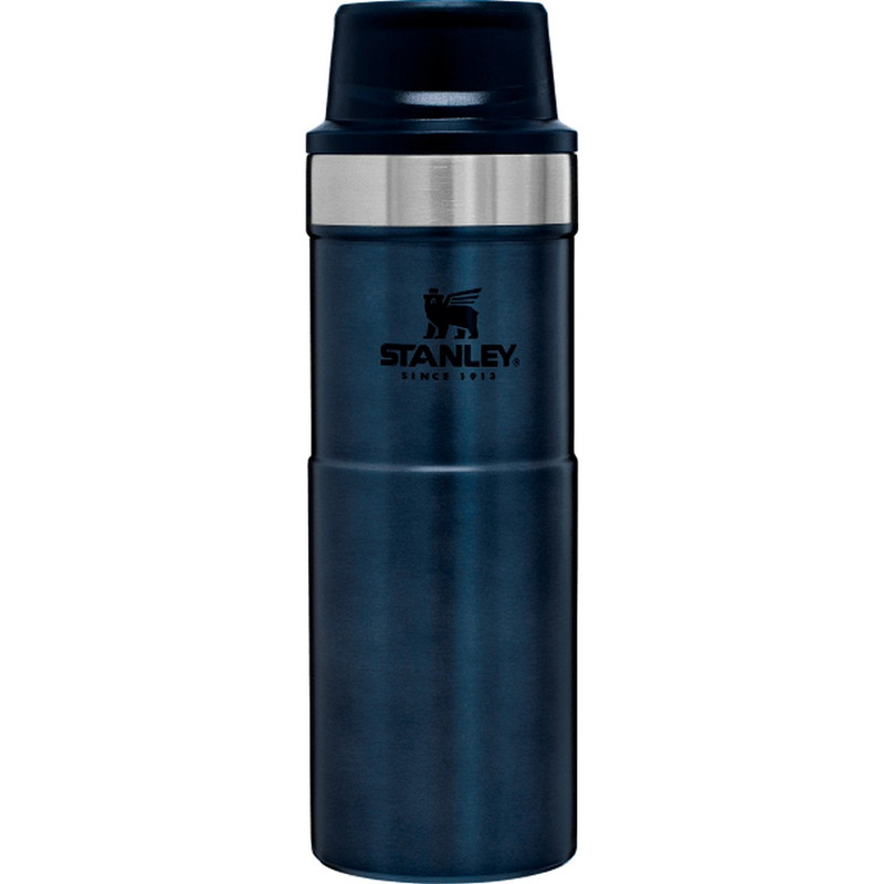 Stanley Classic Trigger-Action Travel Mug - 16 Ounce in Nightfall Color