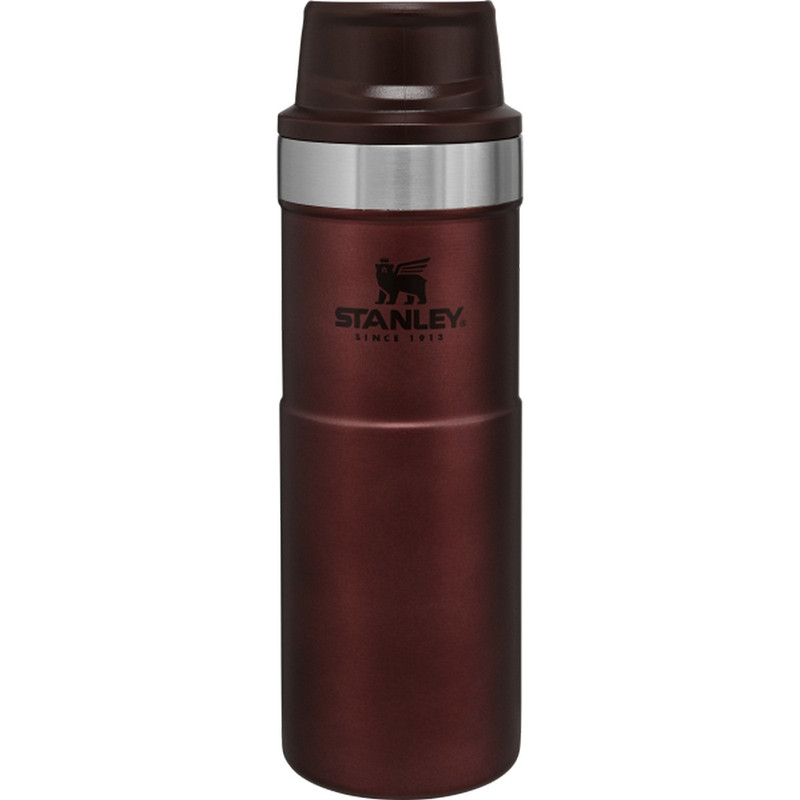Stanley Classic Trigger-Action Travel Mug - 16 Ounce in Wine Color