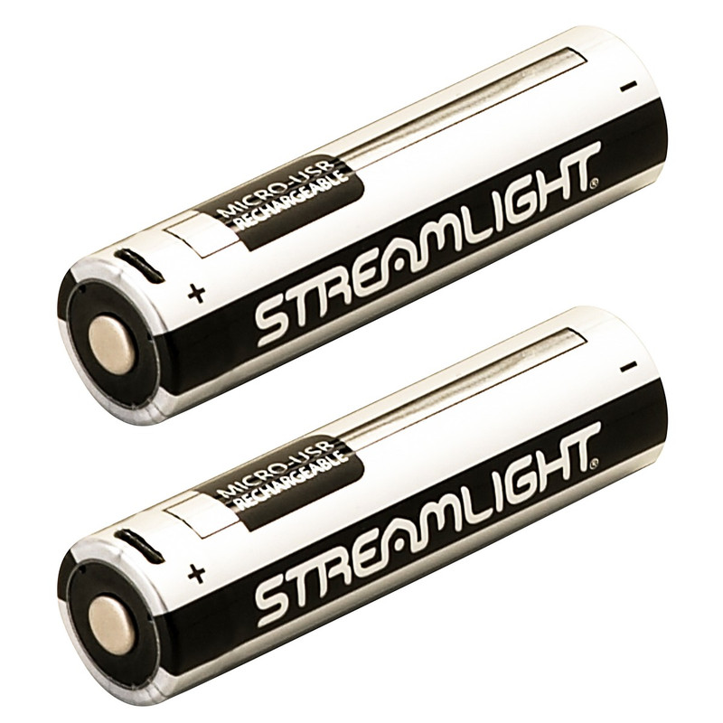 Streamlight 22102 18650 USB Battery Lithium Ion - 2 Pack
