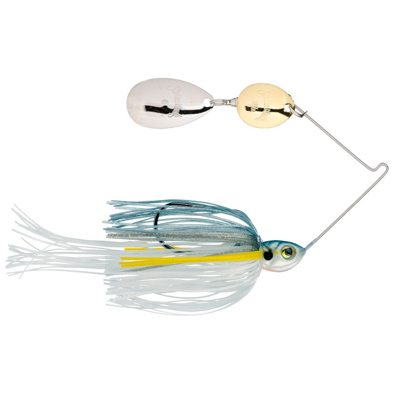 Strike King 3/16 oz Lil Mr. Money Spinner Bait in Sexy Shad Color