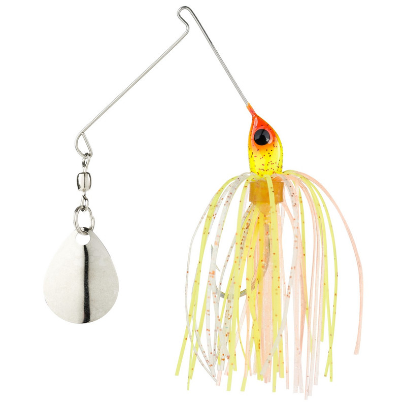 Strike King 1/16 oz Micro-King Spinner Bait in Sun Perch Head Color