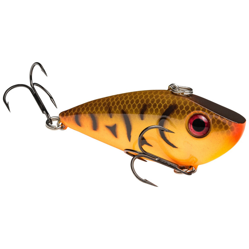 Strike King Red Eyed Shad Lipless Crankbait in Orange Belly Craw Color