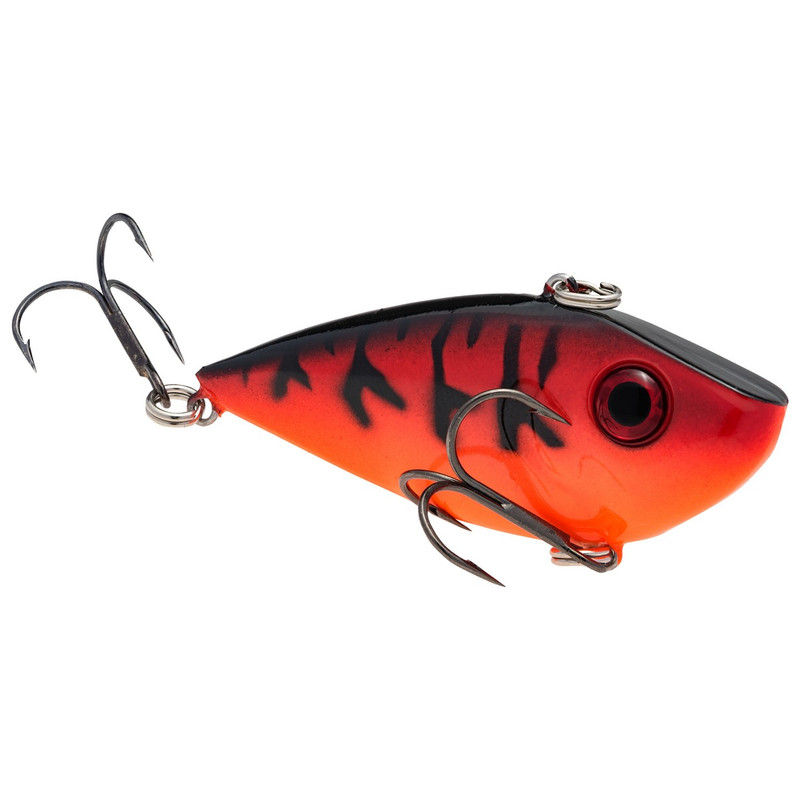 Strike King Red Eyed Shad Lipless Crankbait in Orange Craw Color