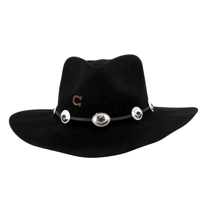 Stetson Women's Charlie 1 Horse Traveler Hat in Black Color