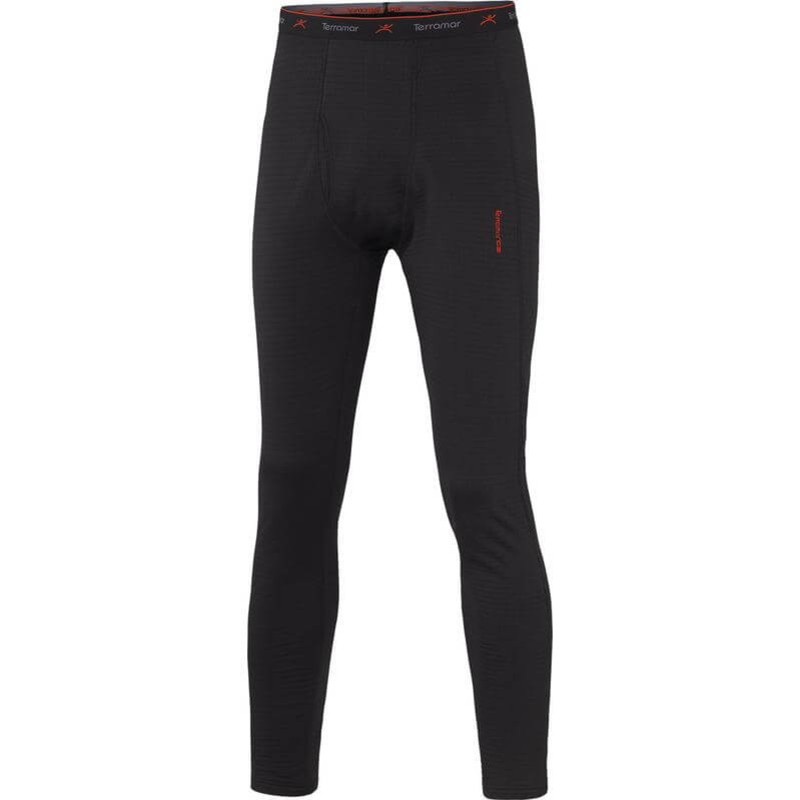 Terramar Base Layer Pant in Black Color