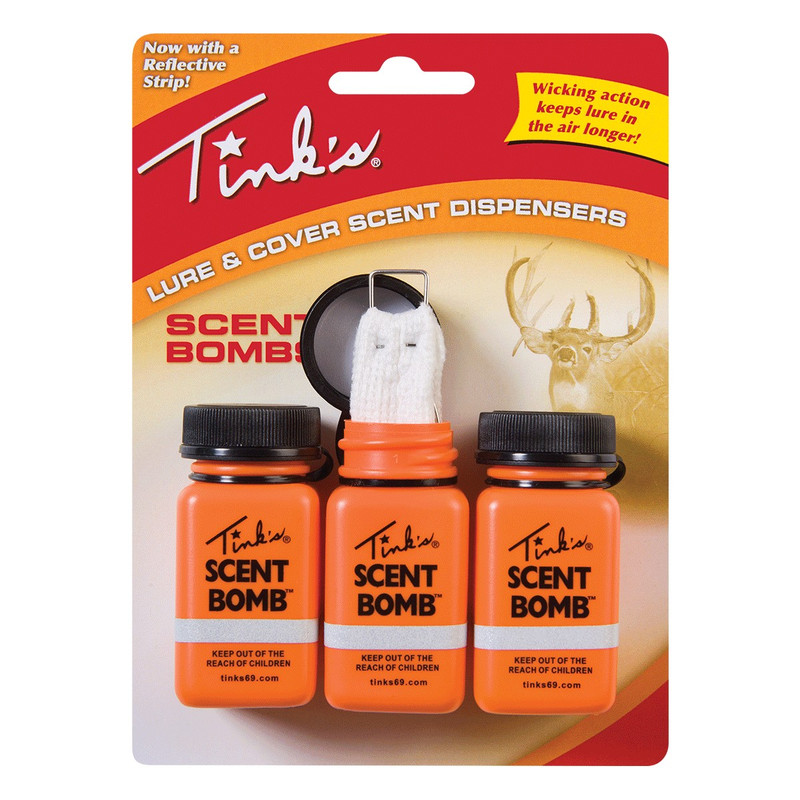 Tinks Scent Bombs Deer Lure