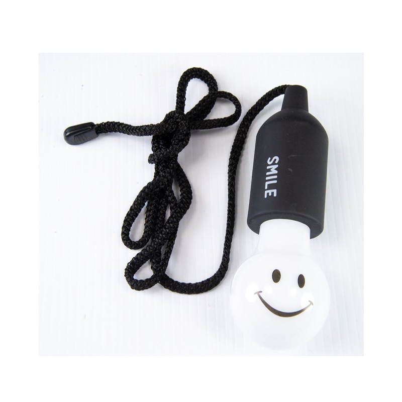 Time Concept Smile Lamp in Black Color