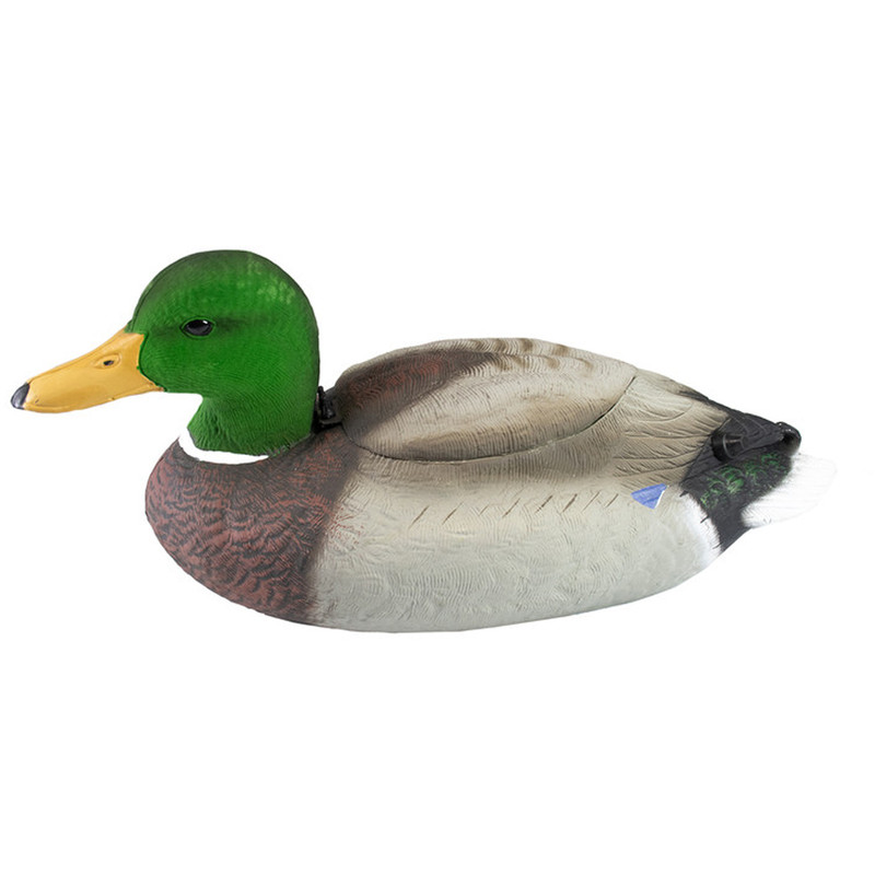 The Real DeCOY Natural Flutter Extreme Drake Mallard Duck Decoy