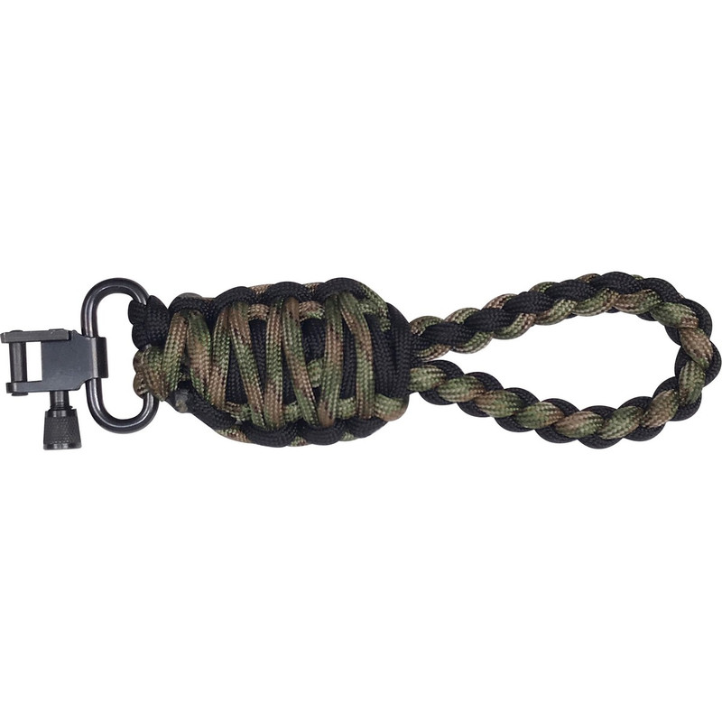 PJ's Paracord Tree Hanger in Black Camo