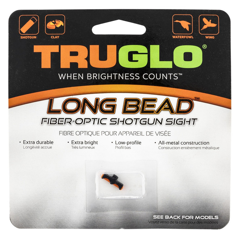 Truglo TG947BRM Long Bead Shotgun Sight 3-56 - Red