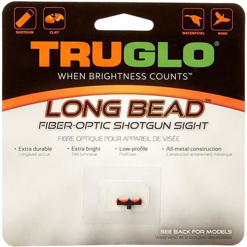 Truglo TG947CRM Long Bead Shotgun Sight 2 6mm Beretta & Benelli - Red
