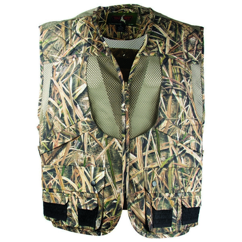 MPW Deluxe Youth Front Loader Game Vest in Mossy Oak Shadow Grass Blades Color