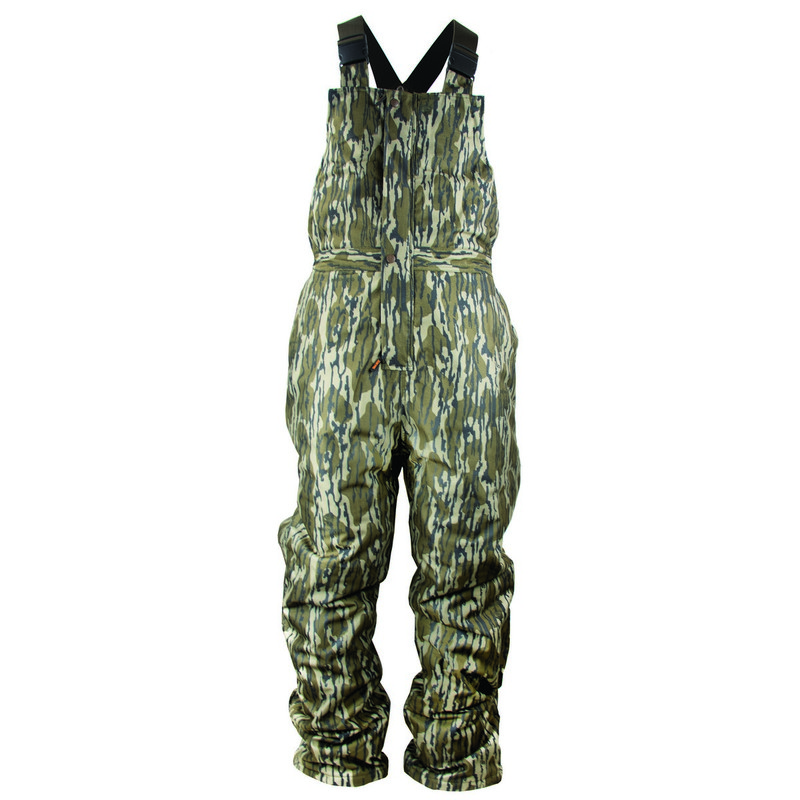 MPW Insulated Waterproof Youth Bib Overall in Mossy Oak Bottomland Color