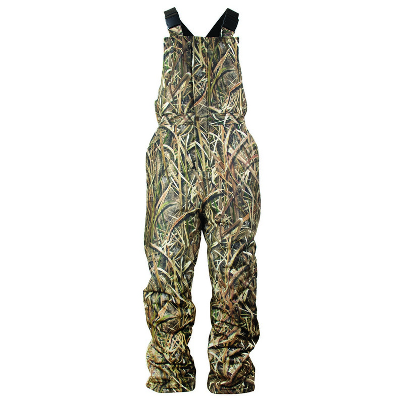 MPW Insulated Waterproof Youth Bib Overall in Mossy Oak Shadow Grass Blades Color