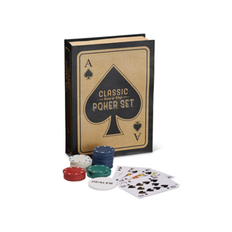 Two's Company Poker Set in Gift Box