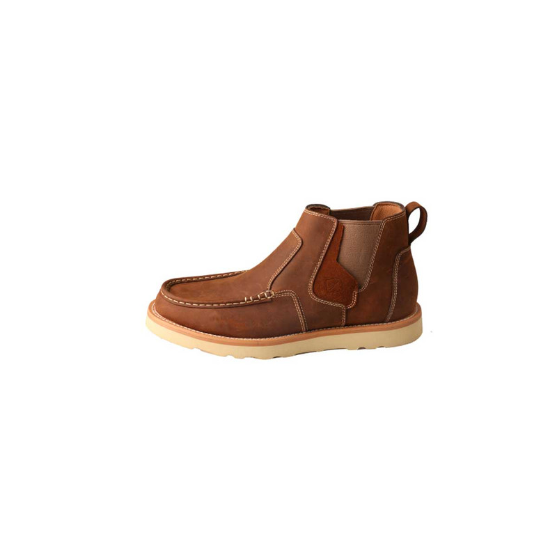 Twisted X Mens Casual Shoe – Oiled Saddle
