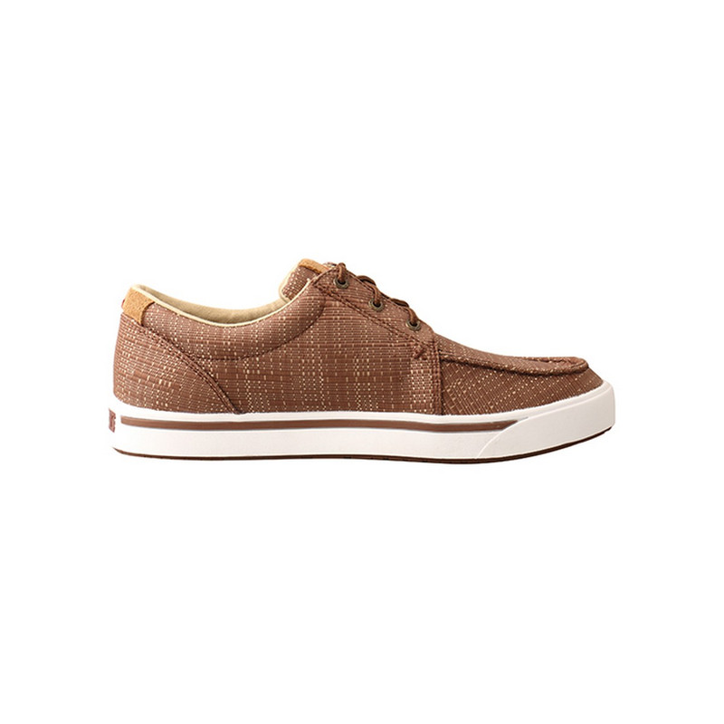 Men's Twisted X Hooey Loper Shoes in Coffee Color