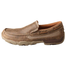 Twisted X Mens Slip-On Driving Moc Shoe
